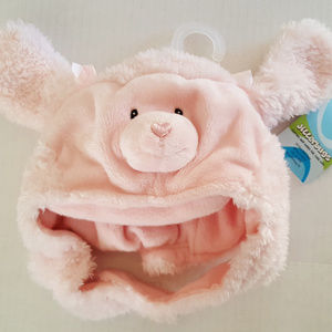 GUND Pink Poodle Hat NWT Soft Cuddly WEARABOUTS